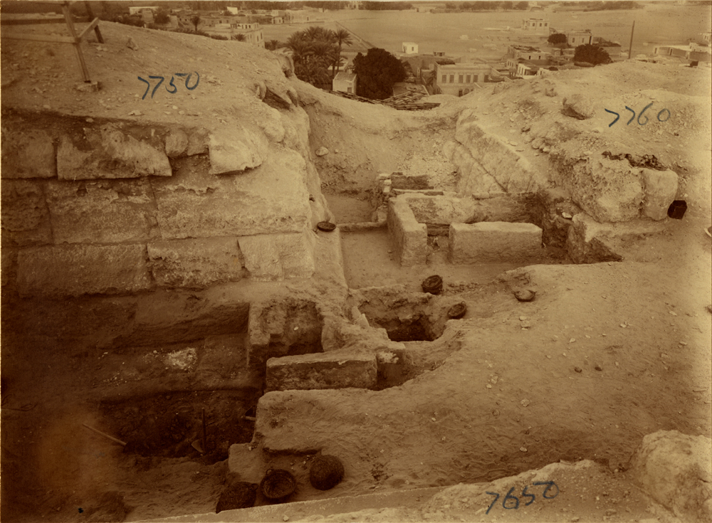 Eastern Cemetery: Site: Giza; View: G 7750, G 7760