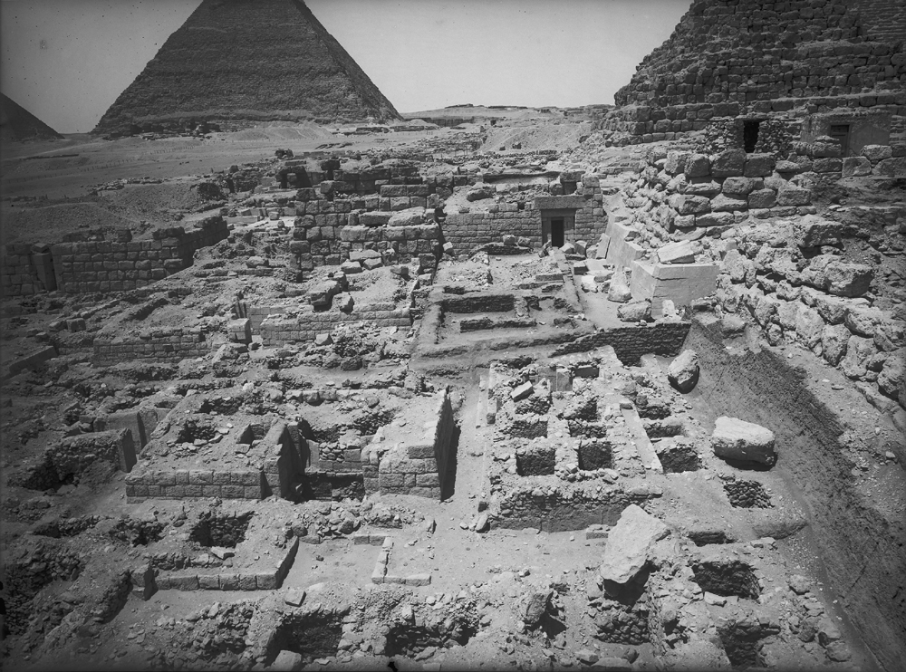 Eastern Cemetery: Site: Giza; View: G 7150, G 7241, G 7244+7246, G 7243, G 7245, G 7247, G 7249, G 7248, G 7142, G 7143
