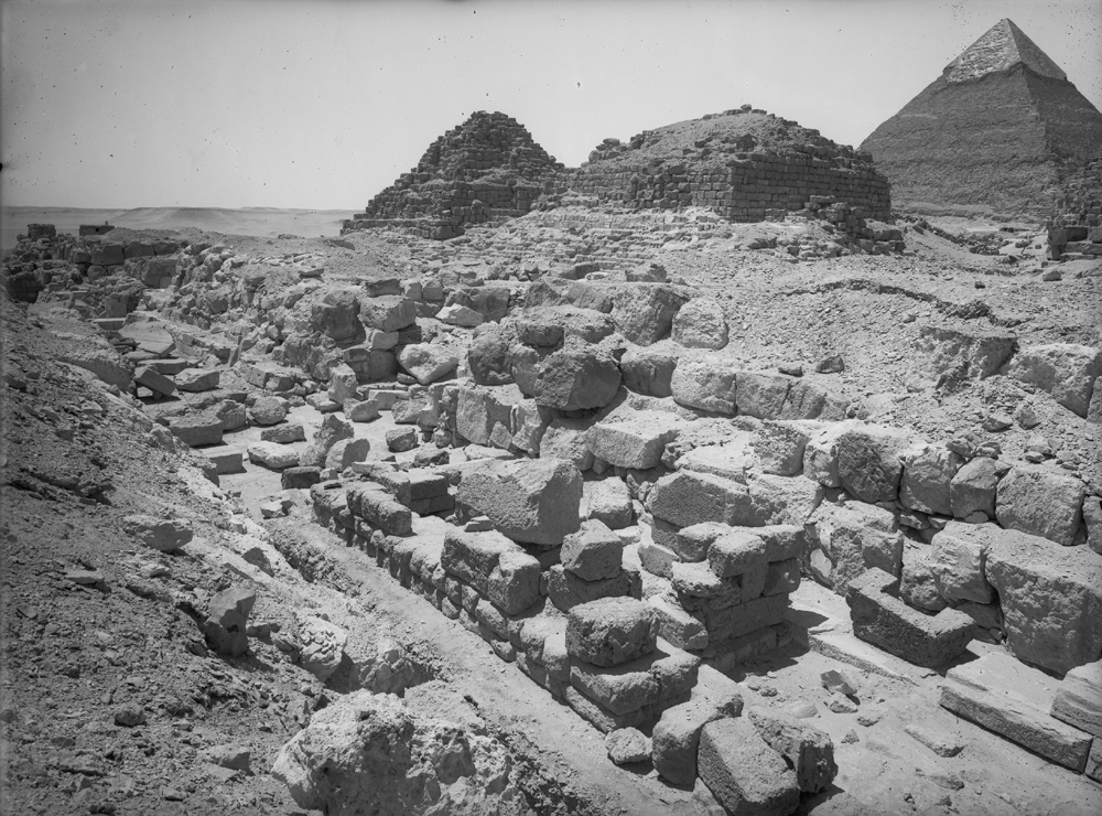 Eastern Cemetery: Site: Giza; View: street G 7100, , G 7110-7120