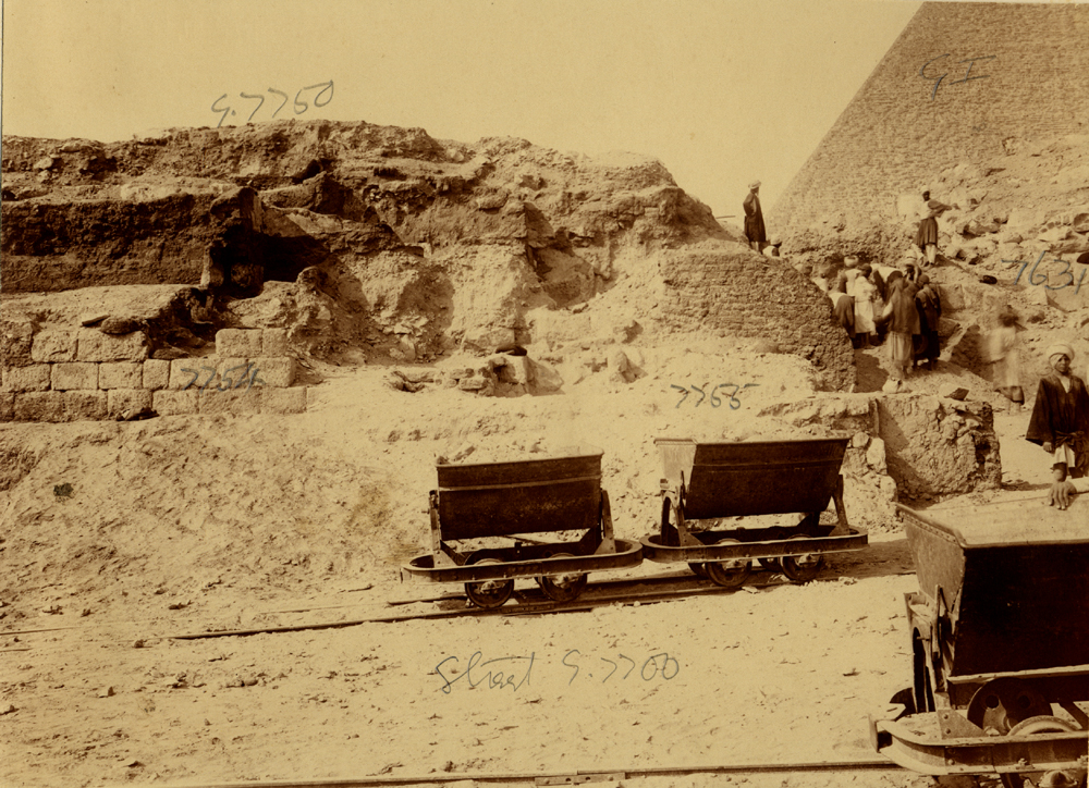 Eastern Cemetery: Site: Giza; View: street G 7700, G 7750, G 7754, G 7755, G 7631
