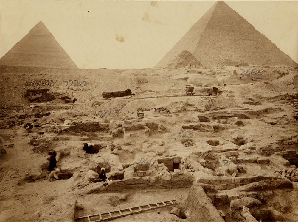 Eastern Cemetery: Site: Giza; View: G 7941, G 7936, G 7943, G 7913, G 7670, G 7660
