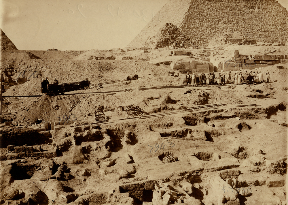 Eastern Cemetery: Site: Giza; View: G 7936, G 7943, G 7660