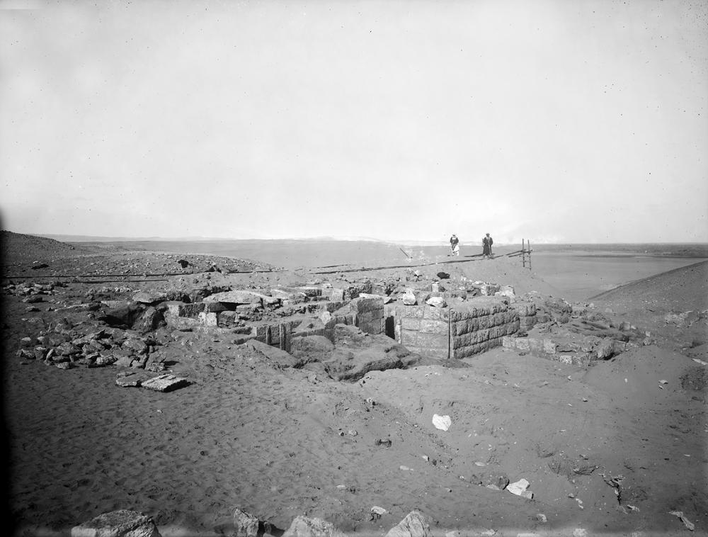 Western Cemetery: Site: Giza; View: G 1501 = mastaba I