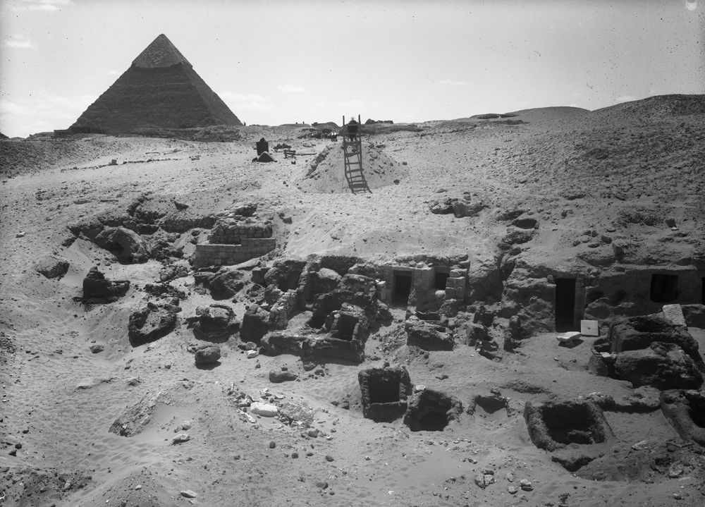 Western Cemetery: Site: Giza; View: G 1612, G 1611, G 1609, G 1617, G 1633, G 1603