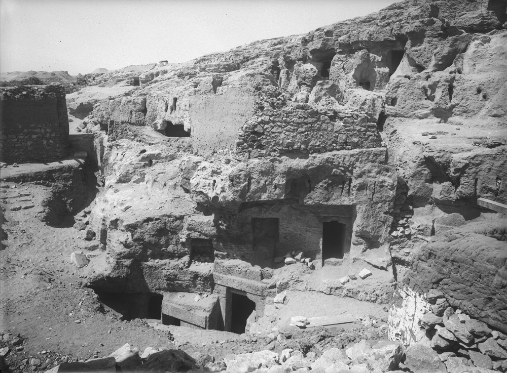 Eastern Cemetery: Site: Giza; View: Service tomb 7, Service tomb 8