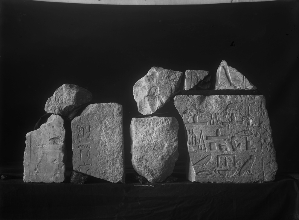 Object(s) photograph: Site: Giza; view: G 5562, G 2370, G 2120, G 5020, G 2356