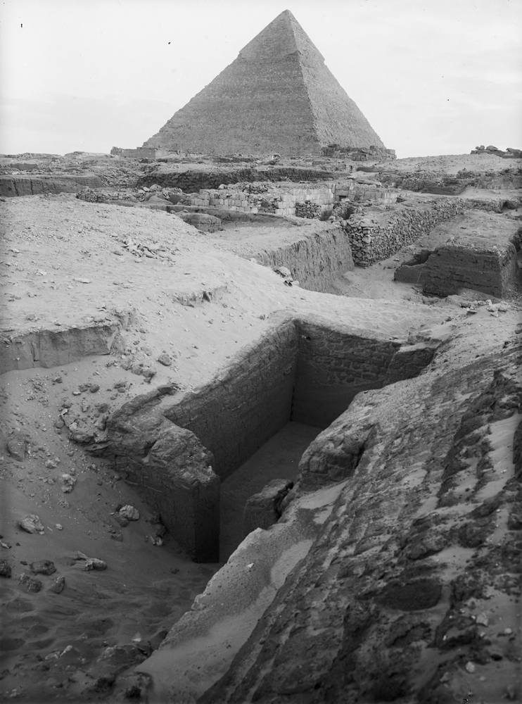 Western Cemetery: Site: Giza; View: G 1407