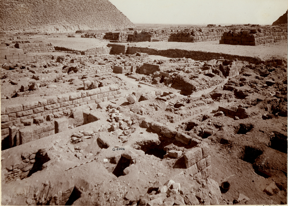 Western Cemetery: Site: Giza; View: G 2004, G 2005