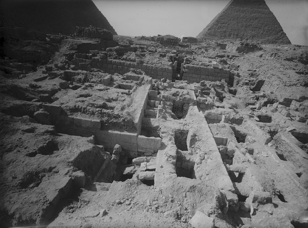 Western Cemetery: Site: Giza; View: G 2407, G 2402, G 2409, G 2360, G 2353, G 2419