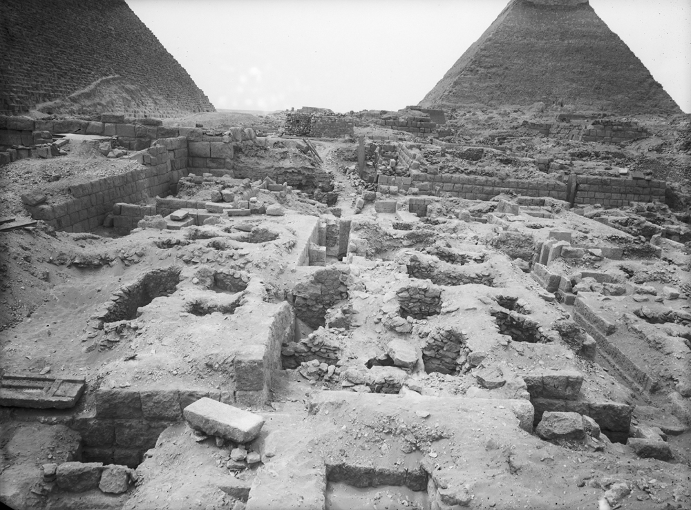 Western Cemetery: Site: Giza; View: G 2420, G 2415, G 2416, G 2421, G 2419