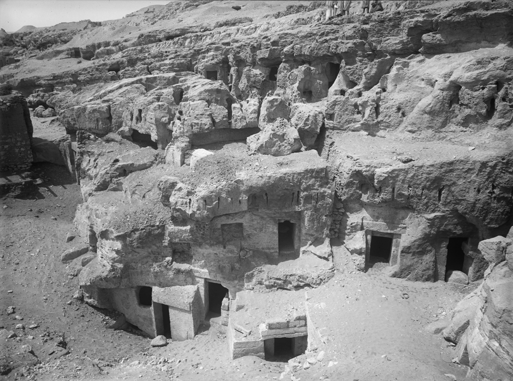 Eastern Cemetery: Site: Giza; View: Service tomb 2, Service tomb 4, Service tomb 5, Service tomb 6, Service tomb 7, Service tomb 8, Service tomb 9, Service tomb 10, Service tomb 11