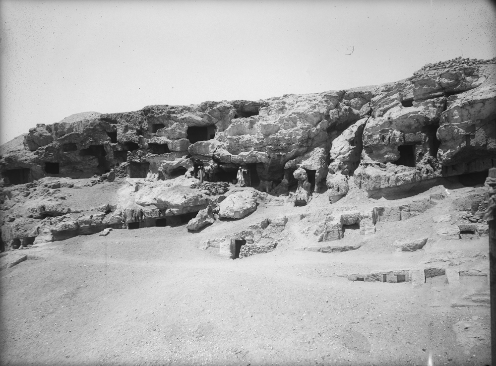 Eastern Cemetery: Site: Giza; View: Lepsius 78, Lepsius 79