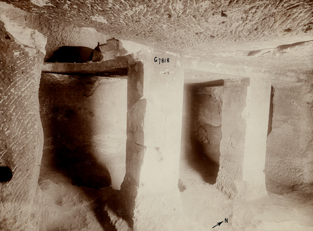 Eastern Cemetery: Site: Giza; View: G 7818