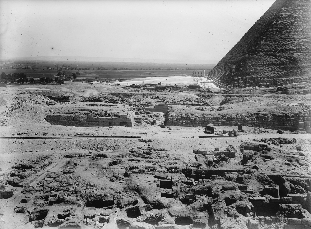 Western Cemetery: Site: Giza; View: G 2035, G 2045, G 2046