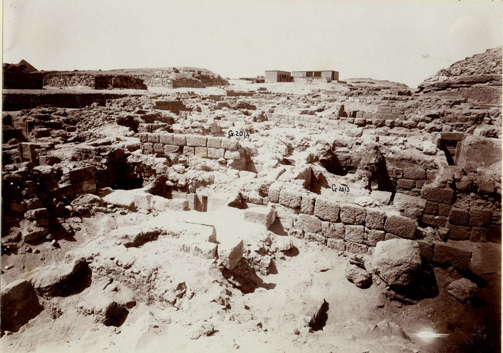 Western Cemetery: Site: Giza; View: G 2015, G 2014, G 2013