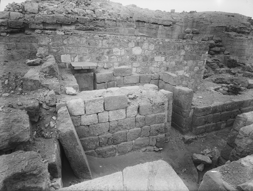 Western Cemetery: Site: Giza; View: G 2003