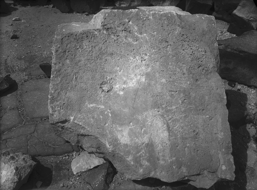 Object(s) photograph: Site: Giza; view: Khufu pyramid temple