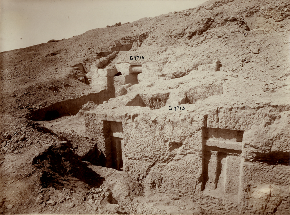 Eastern Cemetery: Site: Giza; View: G 7713, G 7714