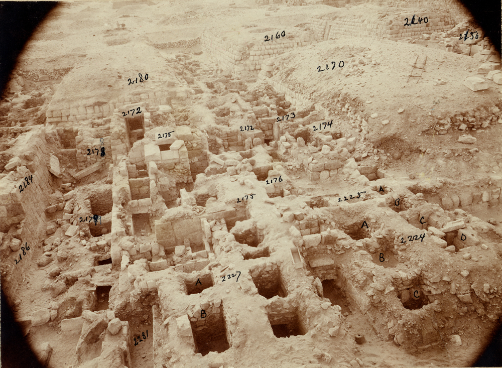 Western Cemetery: Site: Giza; View: G 2231 X, G 2170, G 2180, G 2177, G 2224, G 2225, G 2174, G 2173, G 2176, G 2175, G 2172, G 2179, G 2178, G 2186, G 2184