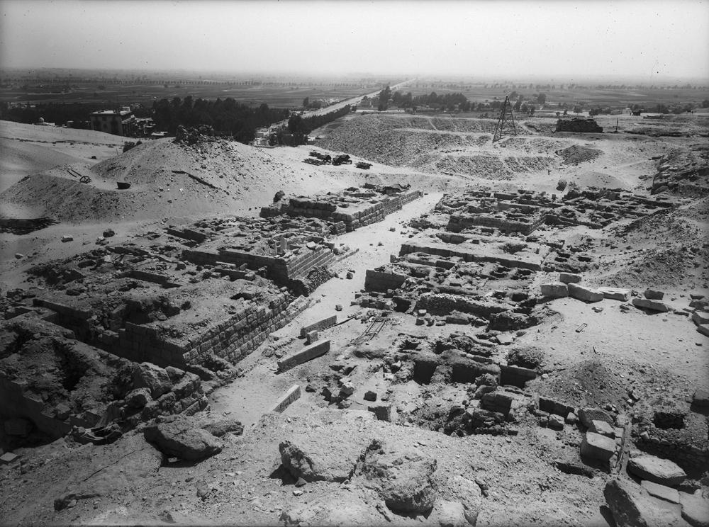 Western Cemetery: Site: Giza; View: G 2092+2093, G 2091, G 2089, G 2088, G 2230+2231, G 2077, G 2076, G 2075, G 2073, G 2074, G 2072, G 2061, G 2071
