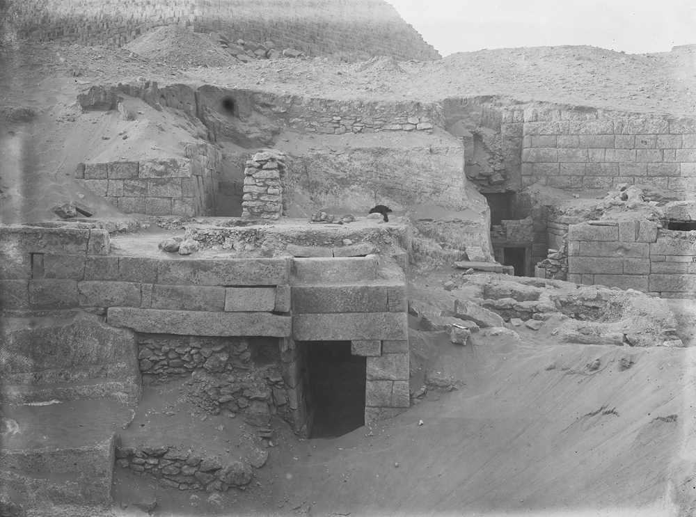 Menkaure Quarry Cemetery: Site: Giza; View: MQ 105, MQ 106, MQ 120, MQ 124, MQ 123