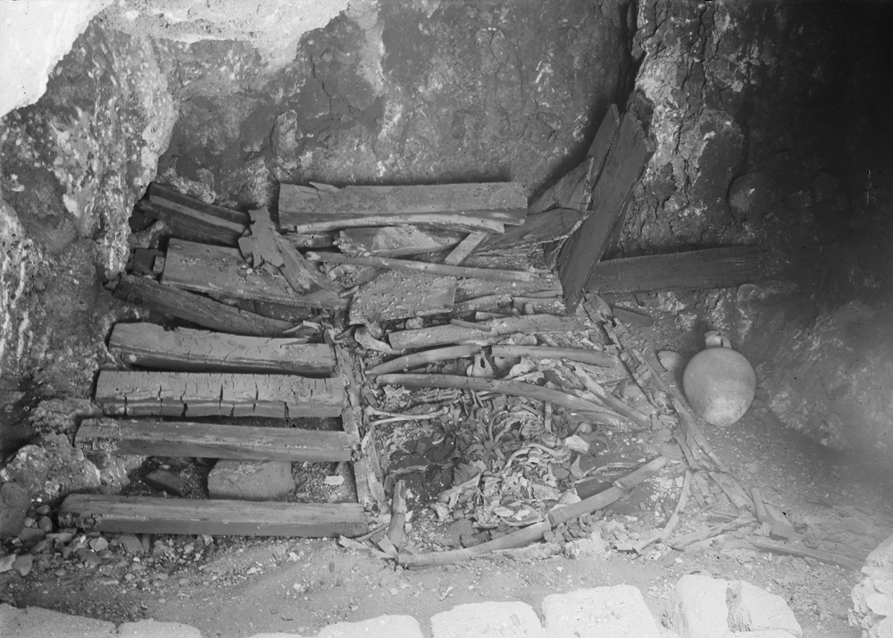 Western Cemetery: Site: Giza; View: G 1233-Annex