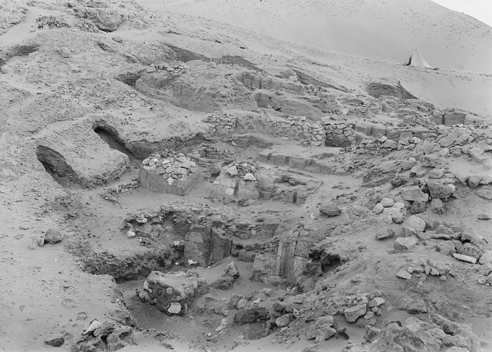Wadi Cemetery (Reisner; north of W. Cem): Site: Giza; View: GW 1, GW 2, GW 3, GW 4, GW 5, GW 6, GW 7, GW 8, GW 10, GW 13, GW 14, GW 16