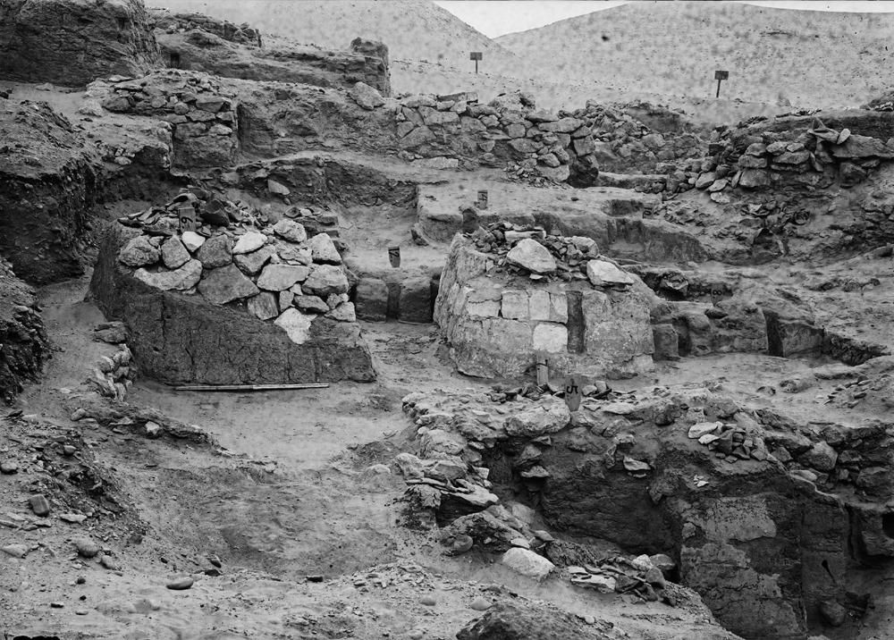 Wadi Cemetery (Reisner; north of W. Cem): Site: Giza; View: GW 5, GW 6, GW 7, GW 8, GW 12, GW 14