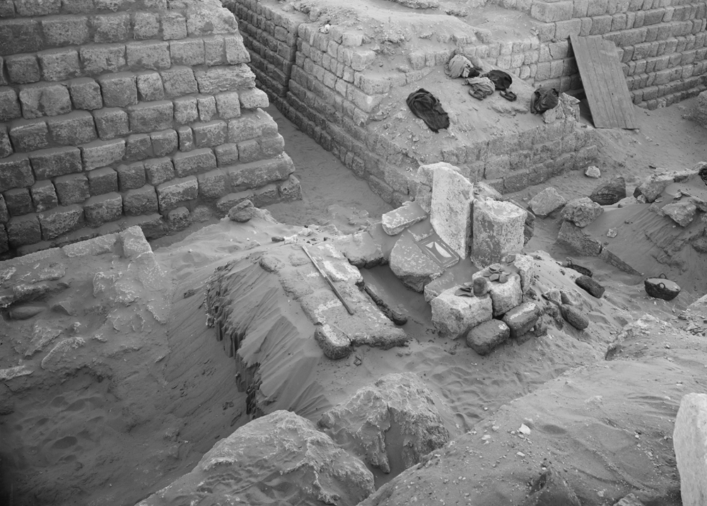 Western Cemetery: Site: Giza; View: G 1218, G 1217
