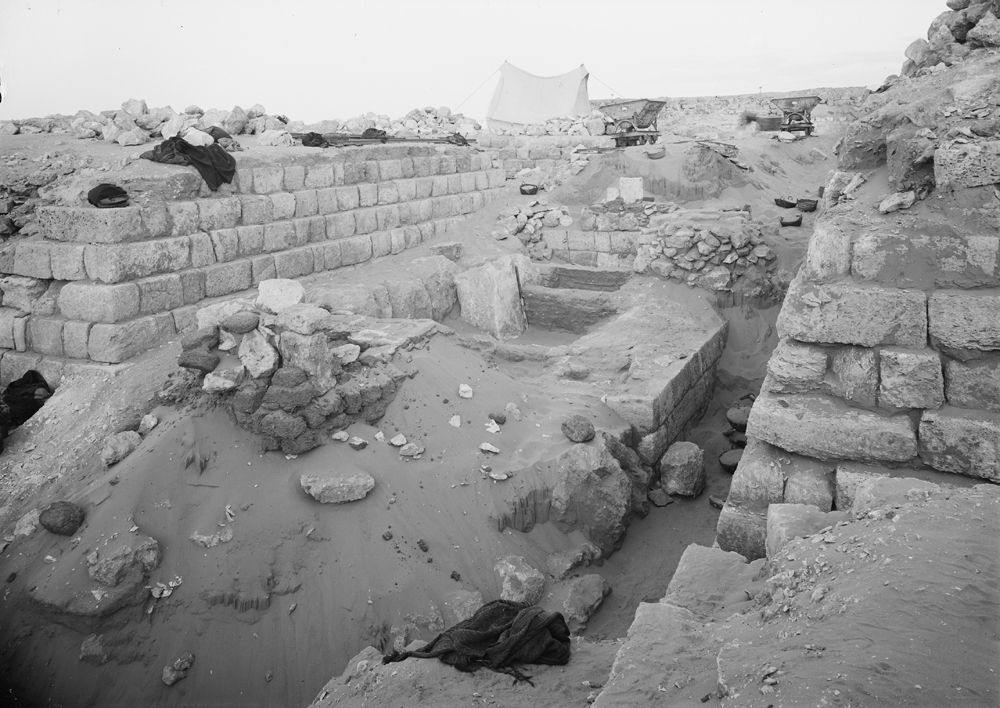 Western Cemetery: Site: Giza; View: G 1218, G 1219, G 1225