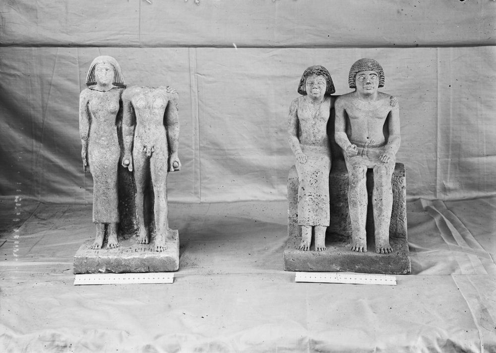 Object(s) photograph: Site: Giza; view: G 1022, G 1020