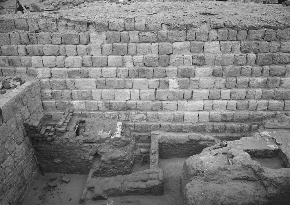 Western Cemetery: Site: Giza; View: G 1205, G 1204, G 1203