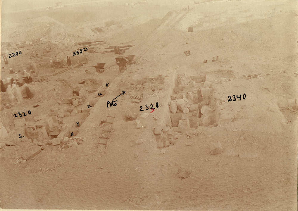 Western Cemetery: Site: Giza; View: G 2330 = G 5380, G 2320 = G 5280, G 2340 = G 5480, G 2331, G 2332, G 2334