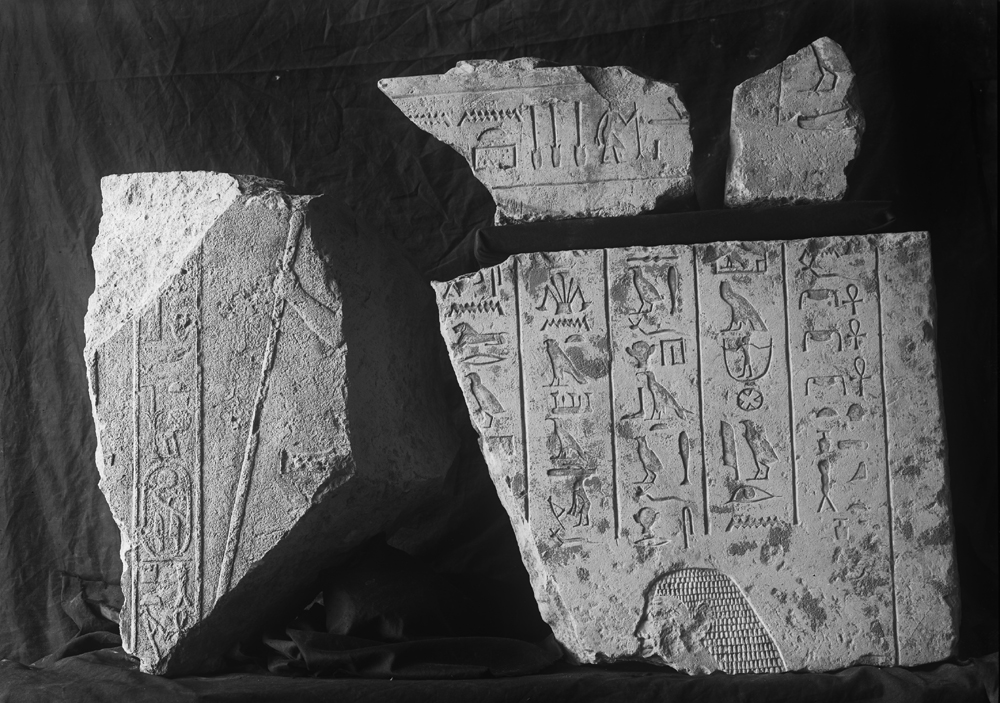 Object(s) photograph: Site: Giza; view: G 2381, G 2382