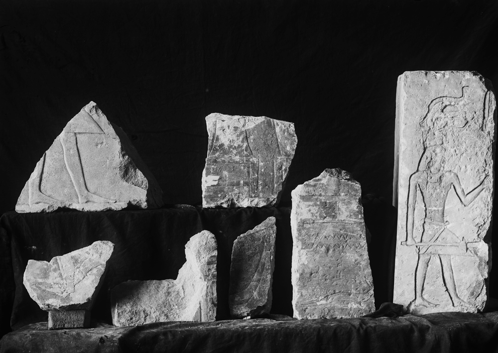 Object(s) photograph: Site: Giza; view: G 2362, G 2381, G 2382