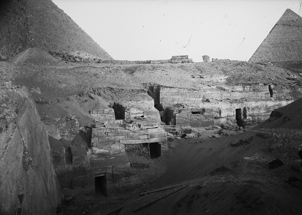 Menkaure Quarry Cemetery: Site: Giza; View: MQ 1, MQ 120, MQ 105, MQ 121, MQ 124, MQ 106, MQ 136, MQ 123