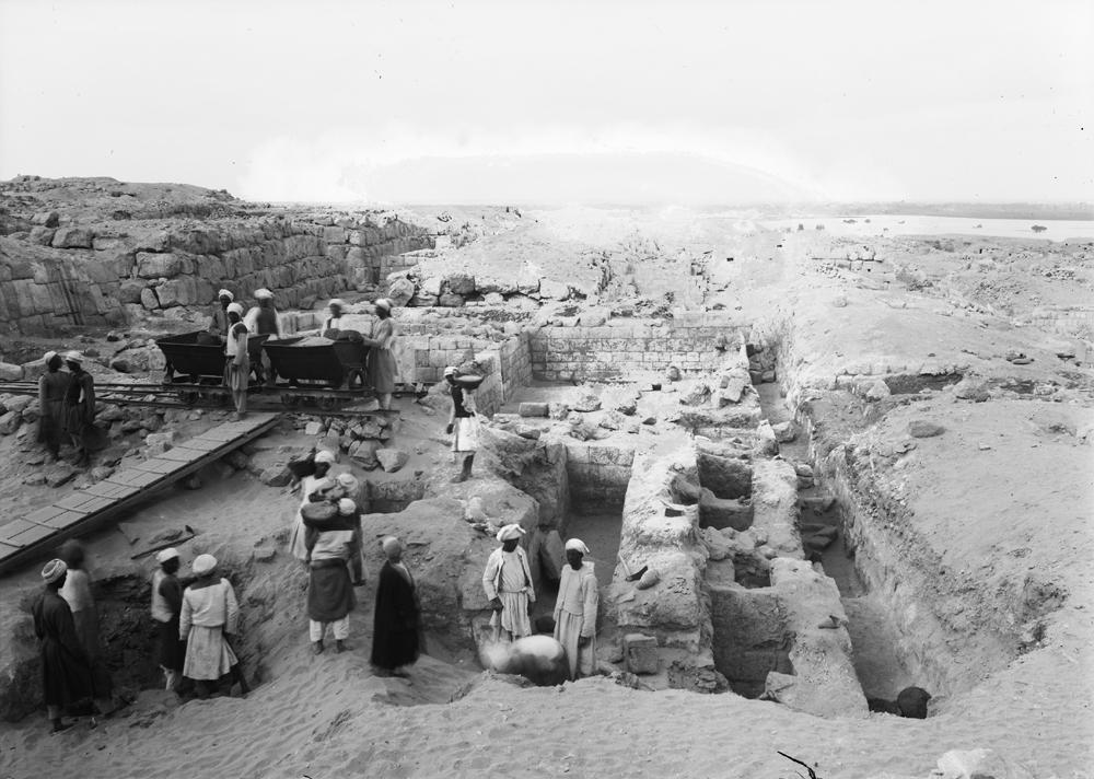 Western Cemetery: Site: Giza; View: G 4816, G 4817, G 4810, G 4811+4812, G 4813