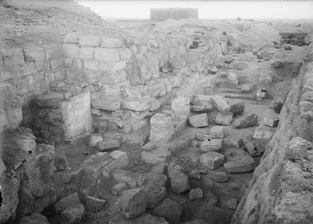 Eastern Cemetery: Site: Giza; View: street G 7100, G 7110-7120
