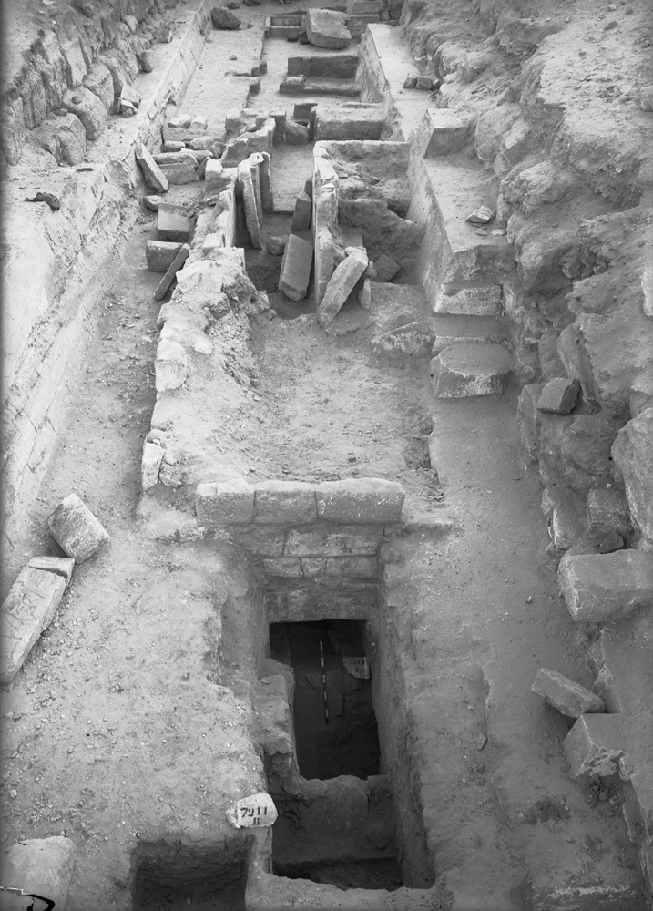 Eastern Cemetery: Site: Giza; View: street G 7200, G 7211