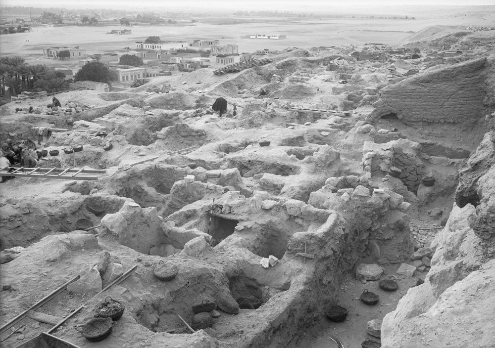 Eastern Cemetery: Site: Giza; View: street G 7500