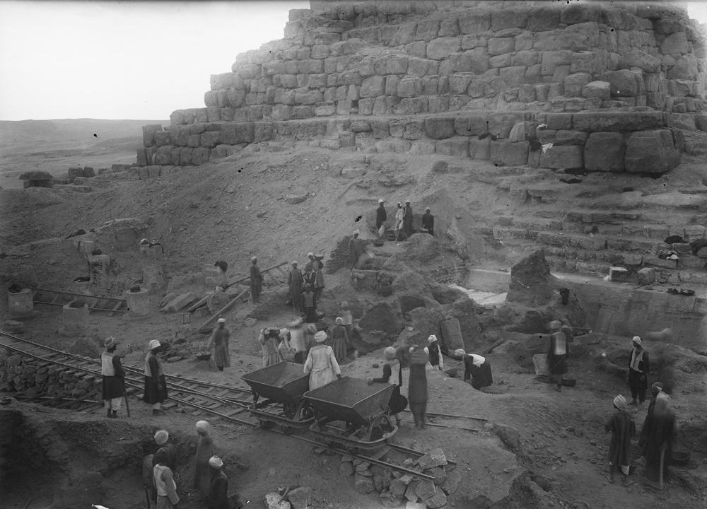 Eastern Cemetery: Site: Giza; View: G I-c, G 7011, street G 7000, bin 194, bin 201, bin 202, bin 203