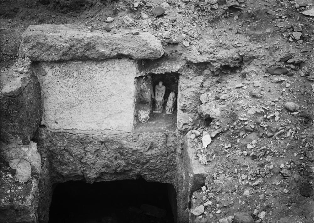 Western Cemetery: Site: Giza; View: G 2000 X = G 1903X 2091X
