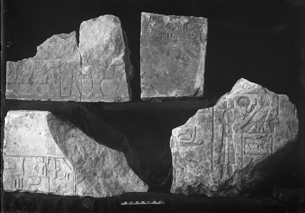 Object(s) photograph: Site: Giza; view: G 7135 (formerly G 7140 Z), G 7011, Isis Temple, street G 7200