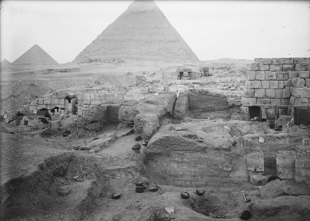 Eastern Cemetery: Site: Giza; View: G 7100 Pt i, G 7100 Pt ii, G 7146, G 7144, G 7143, G 7150, G 7152