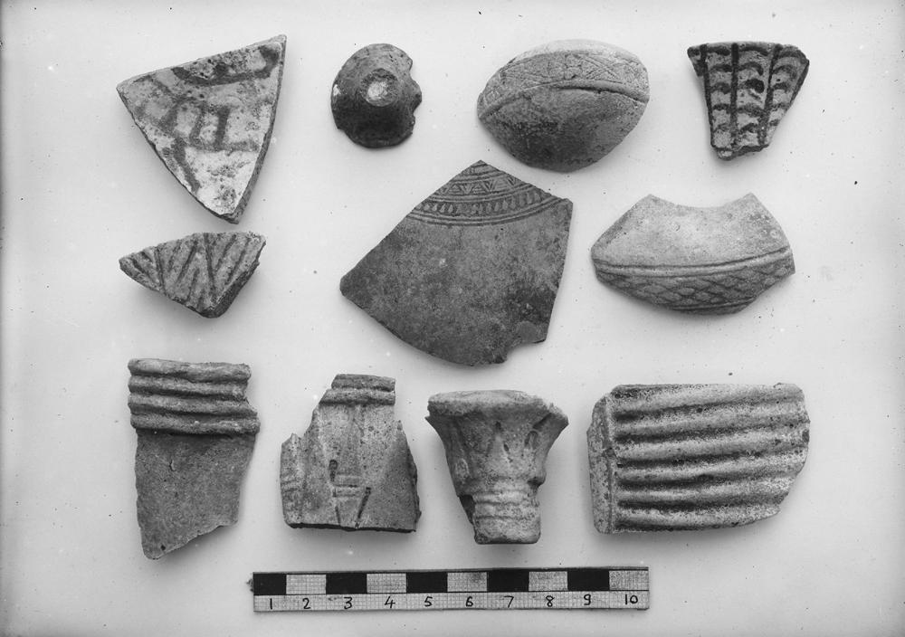 Object(s) photograph: Site: Giza; view: G 7400 Pt ii, G 7430-7440, street G 7300, street G 7400, G 7330-7340, RR dump VII