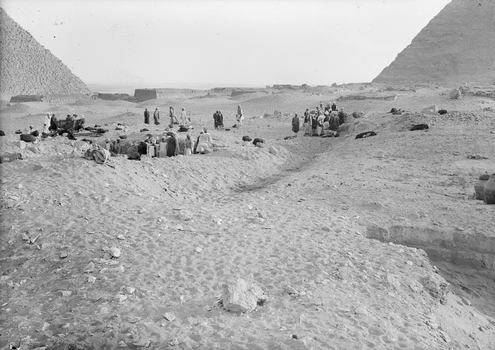 Western Cemetery: Site: Giza; View: G 2100, G 2130, G 2120