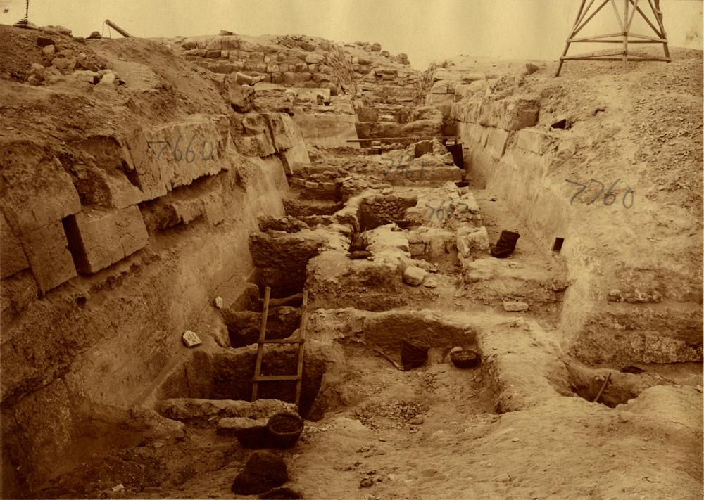 Eastern Cemetery: Site: Giza; View: street G 7600, G 7660, G 7760, G 7663, G 7662, G 7661