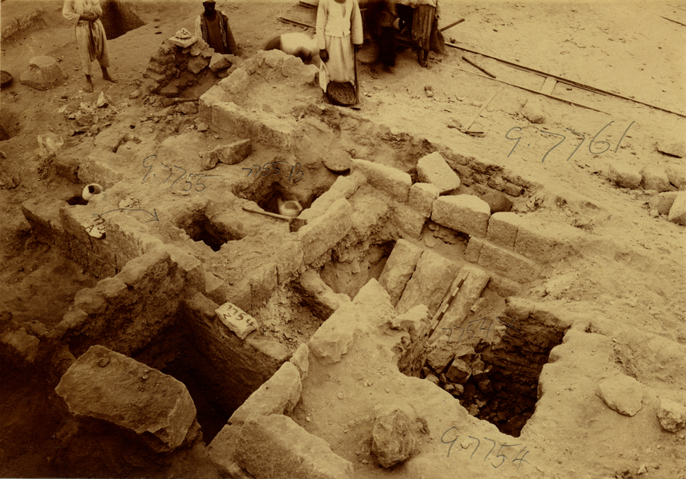Eastern Cemetery: Site: Giza; View: G 7755, G 7754, G 7761