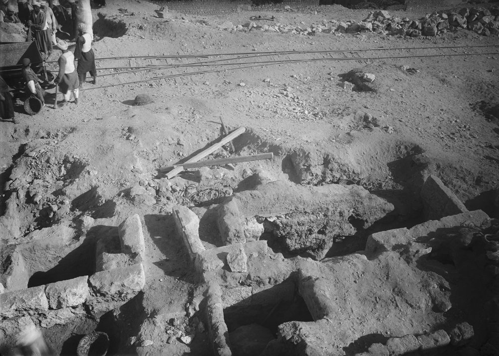 Eastern Cemetery: Site: Giza; View: G 7753, street G 7700