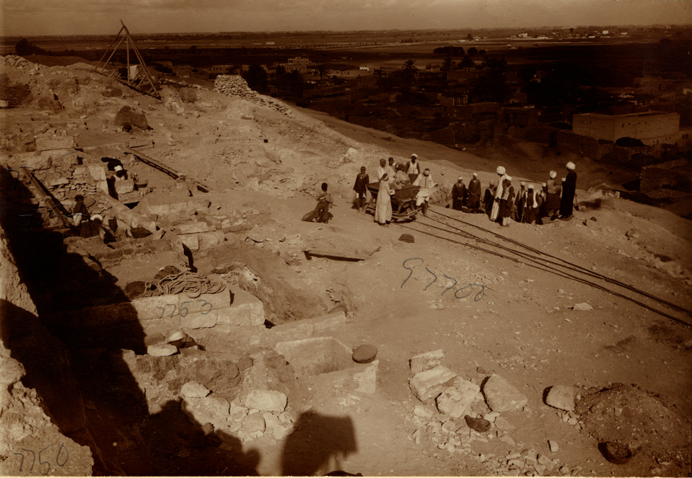 Eastern Cemetery: Site: Giza; View: street G 7700, G 7750, G 7753